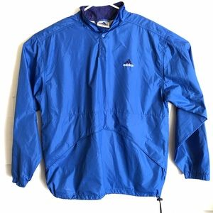 Adidas Men's Nylon Lightweight Windbreaker Medium